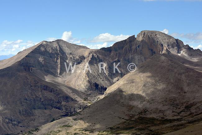 Long's Peak.  Colorado Rocky Mountains. Sept 2013.  82535