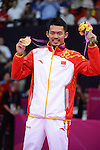 Lin Dan, China, Gold Medal Winner, Mens singles, Olympic Badminton London Wembley 2012