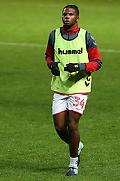 Anfernee Dijksteel of Charlton Athletic pre-match during Charlton Athletic vs Portsmouth, Checkatrade Trophy Football at The Valley on 7th November 2017