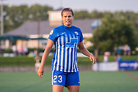 Boston, MA - Friday August 04, 2017: Katie Stengel during a regular season National Women's Soccer League (NWSL) match between the Boston Breakers and FC Kansas City at Jordan Field.