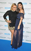 Tallia Storm and Emily Canham at the SeriousFun London Gala 2018, The Roundhouse, Chalk Farm Road, London, England, UK, on Tuesday 06 November 2018.<br /> CAP/CAN<br /> &copy;CAN/Capital Pictures