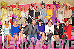 The Fifteen finalists of the best dressed lady competition at Listowel Races, Ladies Day on Friday