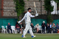 Ryan ten Doeschate of Essex celebrates scoring a century, 100 runs during Surrey CCC vs Essex CCC, Specsavers County Championship Division 1 Cricket at Guildford CC, The Sports Ground on 10th June 2017