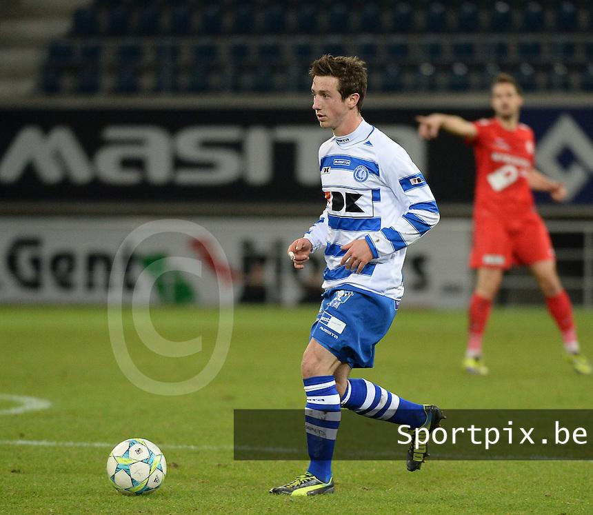 AA Gent - KV Kortrijk : Brecht Dejaegere <br /> foto VDB / Bart Vandenbroucke