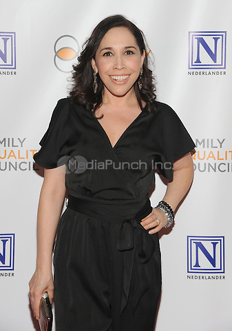 NEW YORK, NY - MAY 09:  Andrea Burns attends the 11th Annual Family Equality Council Night at the Pier at Pier 60 on May 9, 2016 in New York City.  Photo Credit: John Palmer/Media Punch