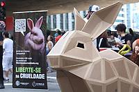 21.04.2019 - Protesto contra testes em animais em SP