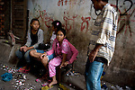 Outside, young people have nothing to do all day and few hopes for the future, leaving them vulnerable to becoming involved in drugs and prostitution.<br />