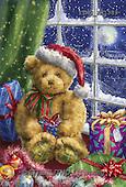 Marcello, CHRISTMAS ANIMALS, WEIHNACHTEN TIERE, NAVIDAD ANIMALES,teddy bear, paintings+++++,ITMCXM1389,#XA#