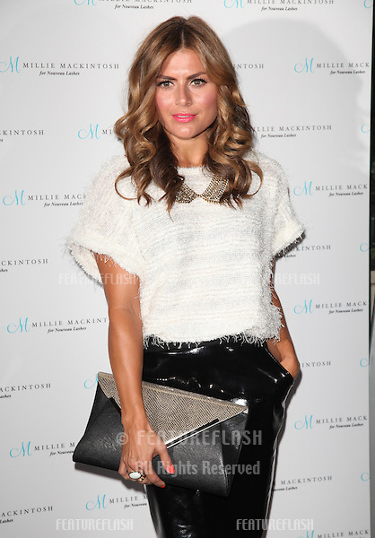 Zoe Hardman arriving for the Nouveau Lashes Launch, London.  18/09/2012 Picture by: Alexandra Glen / Featureflash