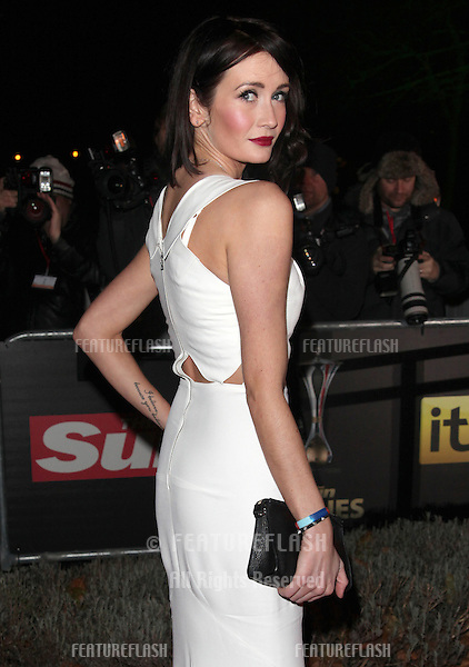 Peta Todd arriving for The Sun Military Awards, at The Imperial War Museum, London. 06/12/2012 Picture by: Alexandra Glen / Featureflash