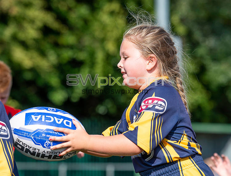 Picture by Allan McKenzie/SWpix.com - 25/07/2018 - Rugby League - Dacia Flair Play - New Spring Lions & Ince Rose Bridge RLFC, Ince-in-Makerfield, England - Dacia Flair Play awards at New Spring Lions & Ince Rose Bridge.
