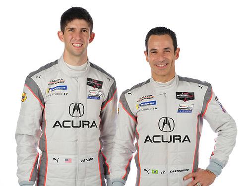 #7 Acura Team Penske Acura DPi, DPi: Helio Castroneves, Ricky Taylor portrait