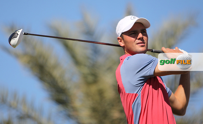 Martin Kaymer (GER) on the 2nd tee during the second round at the Abu Dhabi HSBC Golf Championship in the Abu Dhabi golf club, Abu Dhabi, UAE..Picture: Fran Caffrey/www.golffile.ie.