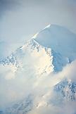 USA, Alaska, the North Peak summit of Mount Denali, Denai National Park