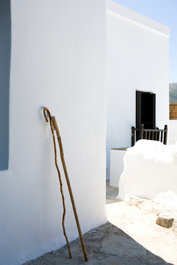 cycladic yard