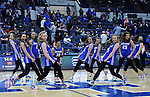 March 1, 2016 - Colorado Springs, Colorado, U.S. -   The Air Force Academy dance team performs at halftime during an NCAA basketball game between the Utah State University Aggies and the Air Force Academy Falcons at Clune Arena, United States Air Force Academy, Colorado Springs, Colorado.  Utah State defeats Air Force 78-65.