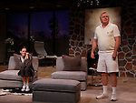 """Malachy Cleary & Brenda Withers star in """"Other Desert Cities"""" at the tech rehearsal (in costume) on October 14, 2015 at Whippoorwill Halll Theatre, North Castle Library, Kent Place, Armonk, New York.  (Photo by Sue Coflin/Max Photos)"""