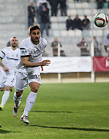 "Pictured: Sotiris Papagiannopoulos, when he played for PAOK Salonika in Greece. STOCK PICTURE<br /> Re: Swedish centre-back Sotiris Papagiannopoulos is joining Premier League side Swansea City for a trial.<br /> The 26-year-old is contracted to Swedish club Ostersunds FK, so could only sign for the Swans when the transfer window reopens in January.<br /> Swansea say Stockholm-born Papagiannopoulos will train with them for ""a few days"".<br /> The club have a working relationship with Ostersunds, having signed forward Modou Barrow from them in 2014."