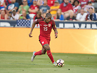Commerce City, CO - Thursday June 08, 2017: Darlington Nagbe during a 2018 FIFA World Cup Qualifying Final Round match between the men's national teams of the United States (USA) and Trinidad and Tobago (TRI) at Dick's Sporting Goods Park.