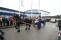 SCHAATSEN: HEERENVEEN: 14-10-2014, Afscheid Jeen van der Berg, ©foto Martin de Jong