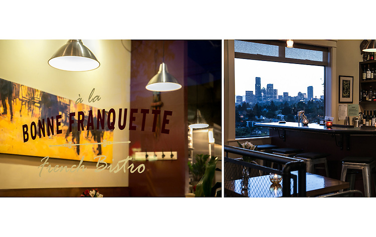 A la Bonne Franquette is a charming French bistro located in the Mount Baker neighborhood in South Seattle.
