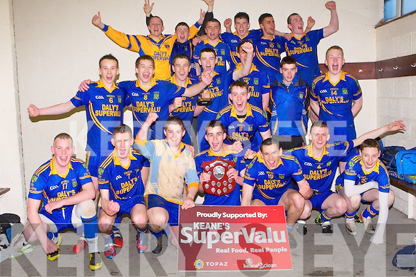 TOP TEAM: The Spa minor football team winners of the 3A minor cup final at Austin Stack park, Tralee on Friday.