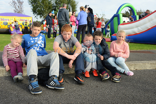 Pictured at the BFRRS open day were (from left): Megan O'Brien, Alan Dyas, Leon Maguire, Leo Driscoll, Thomas Clarke and Leah O'Brien, all from Rathmullam. Photo: Andy Spearman.