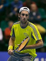 18-12-13,Netherlands, Rotterdam,  Topsportcentrum, Tennis Masters,  Sidney de Boer   <br /> Photo: Henk Koster