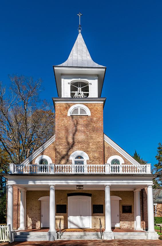St Mathews Episcopal Church exterior.