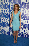 Jayma Mays stars in GLEE as he attends the FOX 2010 Programming Presentation (Upfronts) Post-Party on May 18, 2010 at Wollman Rink in Central Park, New York City, New York.  (Photo by Sue Coflin/Max Photos)