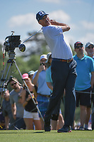 Matt Kuchar (USA) watches his tee shot on 3 during round 3 of the Houston Open, Golf Club of Houston, Houston, Texas. 3/31/2018.<br /> Picture: Golffile | Ken Murray<br /> <br /> <br /> All photo usage must carry mandatory copyright credit (&copy; Golffile | Ken Murray)