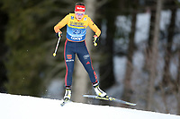 31st December 2019; Dobbiaco, Toblach, South Tyrol, Italy;  FIS Tour de Ski - Cross Country Ski World Cup 2019  in Dobbiaco, Toblach, on December 31, 2019; Katharina Henning of Germany in the Womens individual 10km