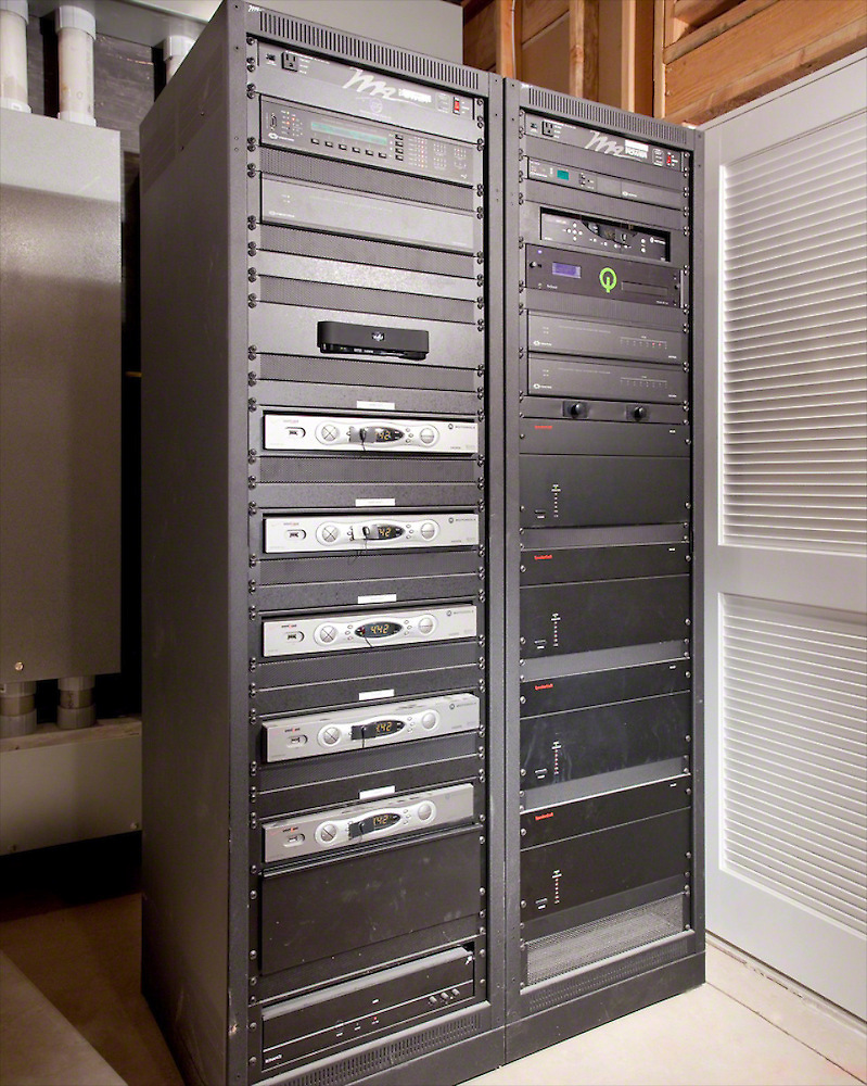 Tall Technology Theater Rack