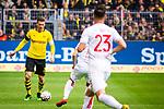 11.05.2019, Signal Iduna Park, Dortmund, GER, 1.FBL, Borussia Dortmund vs Fortuna Düsseldorf, DFL REGULATIONS PROHIBIT ANY USE OF PHOTOGRAPHS AS IMAGE SEQUENCES AND/OR QUASI-VIDEO<br /> <br /> im Bild | picture shows:<br /> Lukasz Piszczek (Borussia Dortmund #26) am Ball, <br /> <br /> Foto © nordphoto / Rauch