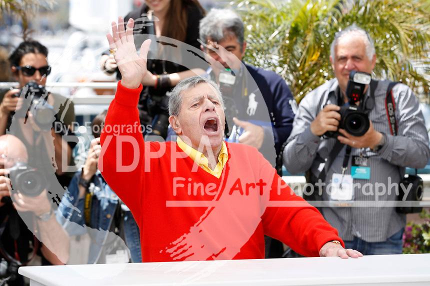 Jerry Lewis beim Photocall zu 'Max Rose'. Festival de Cannes 2013 / 66. Internationale Filmfestspiele von Cannes / 66th Annual Cannes Film Festival, 23.05.2013