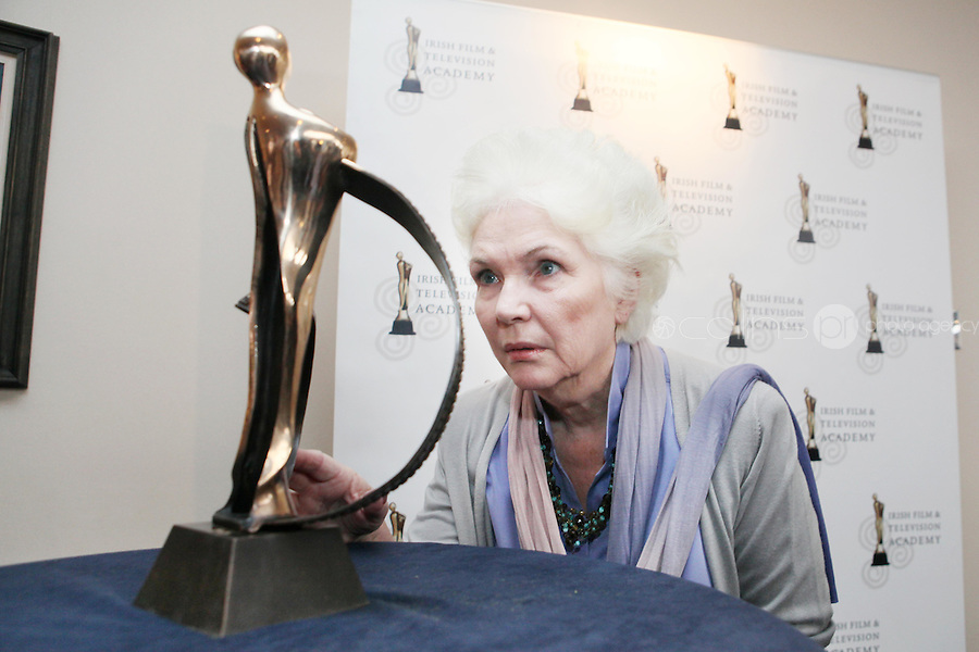 22/9/2010. Cathal O'Shannon - A Life in Television.  Fionnula Flanagan is pictured at the Conrad Hotel Dublin for the IFTA Tribute event Cathal O'Shannon- A life in Television. Picture James Horan/Collins Photos