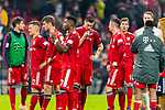 03.11.2018, Allianz Arena, Muenchen, GER, 1.FBL,  FC Bayern Muenchen vs. SC Freiburg, DFL regulations prohibit any use of photographs as image sequences and/or quasi-video, im Bild enttaeuscht Joshua Kimmich (FCB #32) Thomas M&uuml;ller (FCB #25) David Alaba (FCB #27) Niklas Suele (FCB #4) Franck Ribery (FCB #7) Leon Goretzka (FCB #18) <br /> <br />  Foto &copy; nordphoto / Straubmeier