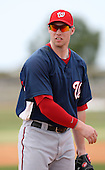 March 22, 2010:  First Baseman Ronnie Labrie of the Washington Nationals organization during Spring Training at the Carl Barger Training Complex in Melbourne, FL.  Photo By Mike Janes/Four Seam Images