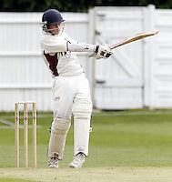 Matt Cracknell bats for North Middlesex during the ECB Middlesex Premier League game between North Middlesex and Hampstead at Park Road, Crouch End on Saturday May 17, 2014