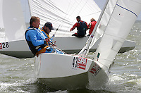 20th SPA Regatta - Medemblik.26-30 May 2004..Copyright free image for editorial use. Please credit Peter Bentley..Alwin van Daelen - NED