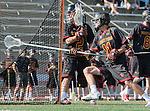 La Canada, CA 03/15/14 - Peter Hollen (Torrey Pines #11) in action during the Torrey Pines vs De La Salle Boy's lacrosse game at St Francis High School in Pasadena.  Torrey Pines defeated De La Salle 10-6.