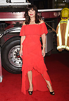 WESTWOOD, CA - OCTOBER 08: Actress Moniqua Plante arrives at the Premiere Of Columbia Pictures' 'Only The Brave' at Regency Village Theatre on October 8, 2017 in Westwood, California.<br /> CAP/ROT/TM<br /> &copy;TM/ROT/Capital Pictures