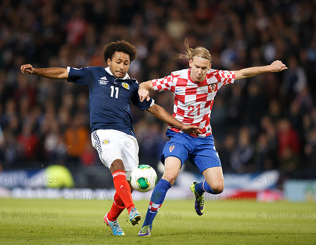 Ikechi Anya and Domagoj Vida