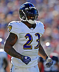 21 October 2007: Baltimore Ravens running back  Willis McGahee in action against the Buffalo Bills at Ralph Wilson Stadium in Orchard Park, NY. The Bills defeated the Ravens 19-14 in front of 70,727 fans marking their second win of the 2007 season...Mandatory Photo Credit: Ed Wolfstein Photo