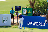 Erik Van Rooyen (RSA) on the 13th tee during the 1st round of the DP World Tour Championship, Jumeirah Golf Estates, Dubai, United Arab Emirates. 15/11/2018<br /> Picture: Golffile | Fran Caffrey<br /> <br /> <br /> All photo usage must carry mandatory copyright credit (© Golffile | Fran Caffrey)