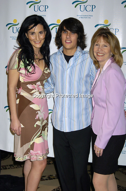 Atoosa Rubenstein, Teddy Gieger and Donna Hanover..at the United Cerebral Palsy's Fourth Annual Women Who Care Luncheon on May 5, 2005 at Cipriani 42nd Street. ..Photo by Robin Platzer, Twin Images