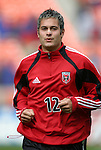 3 April 2004: DC United defender Mike Petke during pregame warmups. DC United defeated the San Jose Earthquakes 2-1 at RFK Stadium in Washington, DC on opening day of the regular season in a Major League Soccer game..