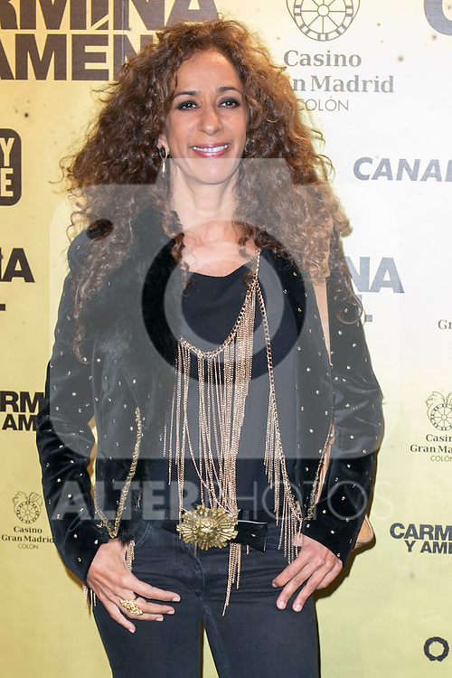 "Spanish singer Rosario Flores attend the Premiere of the movie ""Carmina y Amen"" at the Callao Cinema in Madrid, Spain. April 28, 2014. (ALTERPHOTOS/Carlos Dafonte)"