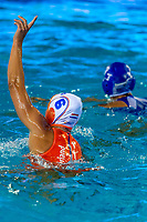 6 STOMPHORST Nomi Lisa NED celebration <br /> NED - GRE Netherlands (white caps) vs. Greece (blue caps) <br /> Barcelona 27/07/2018 Piscines Bernat Picornell <br /> Women Final 1st 2nd place <br /> 33rd LEN European Water Polo Championships - Barcelona 2018 <br /> Photo Andrea Staccioli/Deepbluemedia/Insidefoto