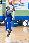 Player Ilimiane Diop during the training of Spanish National Team of Basketball 2019 . July 26, 2019. (ALTERPHOTOS/Francis González)